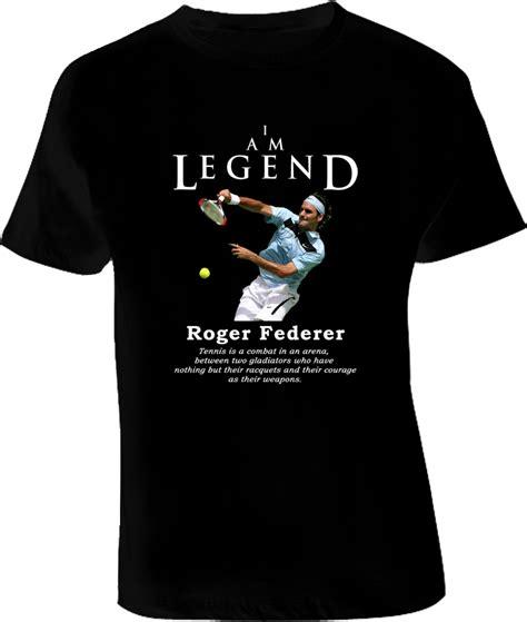 t shirt roger federer 2 roger federer legend tennis t shirt