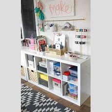 My New Colorful, Functional Craft Room  Persia Lou