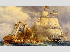 USS Constitution Defeats HMS Guerriere Defense