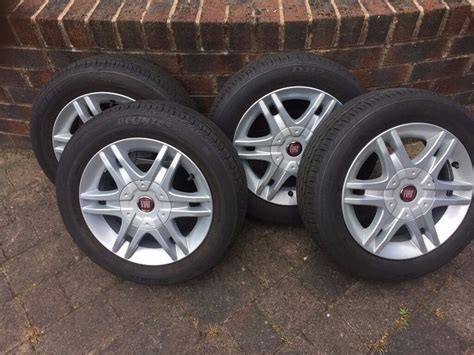 Fiat Rims by Fiat Panda 14 Quot Alloy Wheels Genuine Fiat With As New