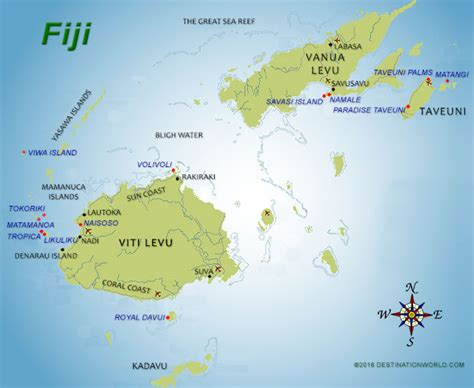 fiji vacations  destination world