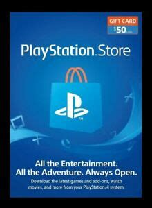 Buy playstation store cards for us playstation network accounts. PlayStation Store Gift Card $50 USA | eBay