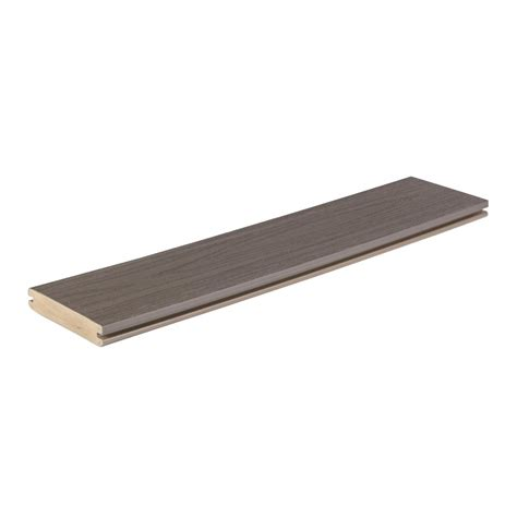 Azek Decking Pricing Home Depot by Azek Harvest Collection 1 In X 5 1 2 In X 12 Ft Island