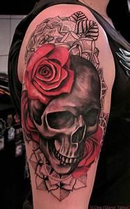 Girly Sugar Skull Design 50 Cool Skull Tattoos Designs Pretty Designs