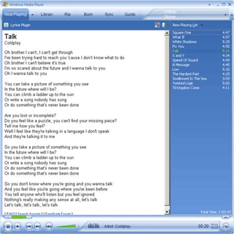 Connexion Bureau à Distance - récupérer les paroles d une musique l 39 de la