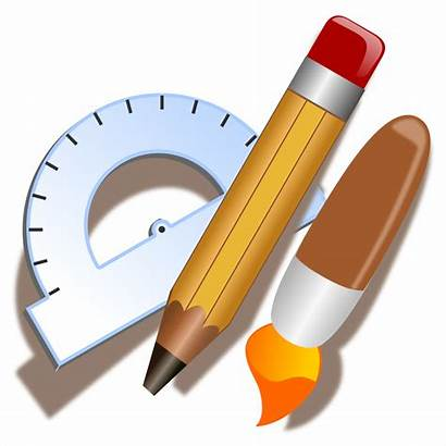 Tools Drawing Clip Clipart Tool Icon Graphics