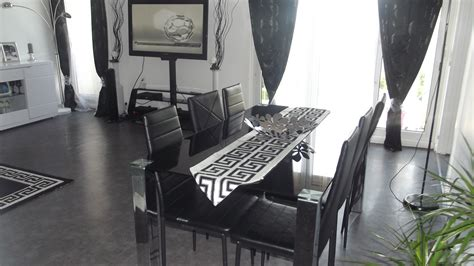 bureau de salon design chemin de table style versace photo 8 12 3522946