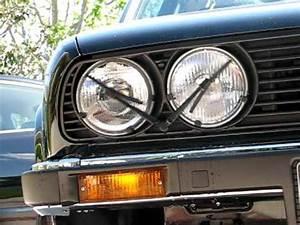 E30 Headlight Wash Wipe Right