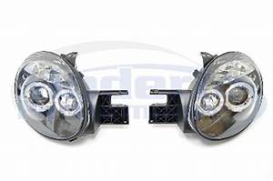 Version 1 LED Halo Projector Headlights 03 05 Neon SRT 4