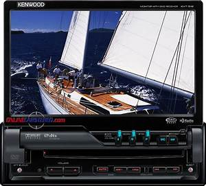 Kenwood Kvt Mp3  Dvd Reciever With 7 U0026quot  Tft