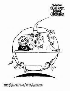 Nightmare Before Christmas Printable Coloring Pages ...