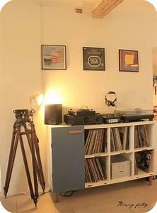 Deco Ikea Salon : kallax ikea hacking salon pinterest meubles ikea deco rangement et platines ~ Teatrodelosmanantiales.com Idées de Décoration