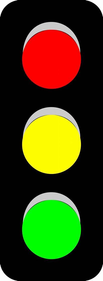 Traffic Clip Clipart Cartoon Lights Stop Cliparts