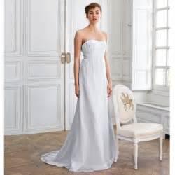 robe mariã e la redoute robes élégantes robe longue blanche la redoute