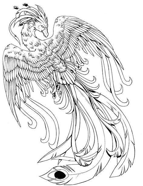 Image result for Fawkes Harry Potter coloring page