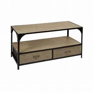 Table Basse Loft : table basse loft industriel pas cher le bois chez vous ~ Teatrodelosmanantiales.com Idées de Décoration