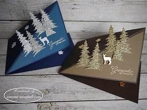 Pop Up Weihnachtskarten : kleine pop up weihnachtskarten mit dreieck baum und reh von stampin up youtube ~ Frokenaadalensverden.com Haus und Dekorationen