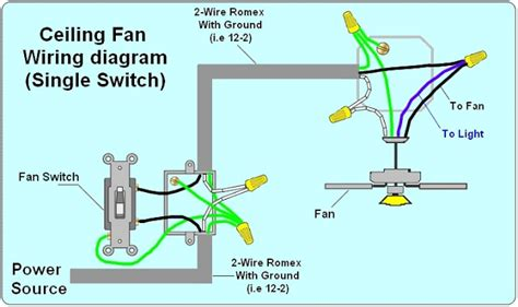 Fan Light Wiring Diagram by 2 Way Light Switch Wiring Diagram House Electrical