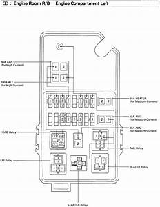 4runner Fuse Box Diagram  4runner  Free Engine Image For User Manual Download