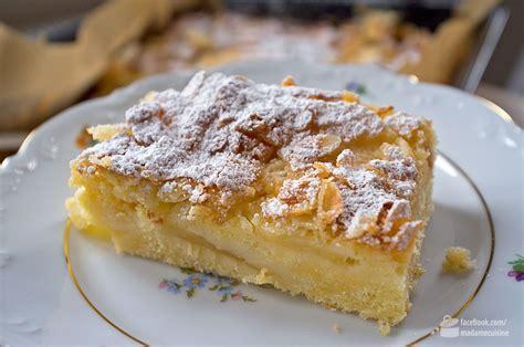 cuisine de norbert apfelkuchen vom blech madame cuisine