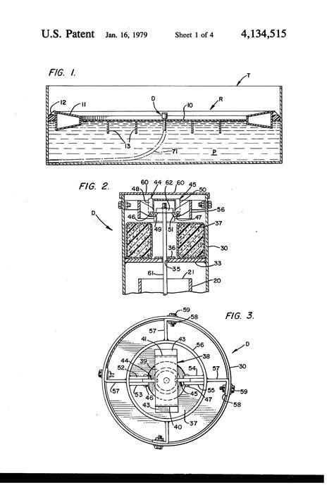 Patent US4134515 - Emergency roof drain for floating roof
