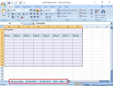 vba excel add worksheets for all the given dates except
