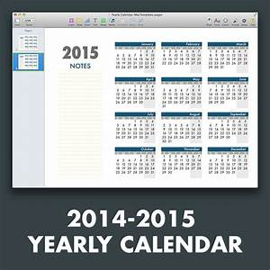 ms office calendar template 2015 - yearly calendar template for pages and pdf