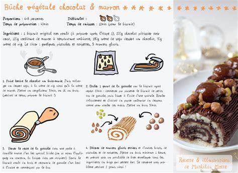 tablette recette de cuisine buche vegan recette cuisine en bandoulière