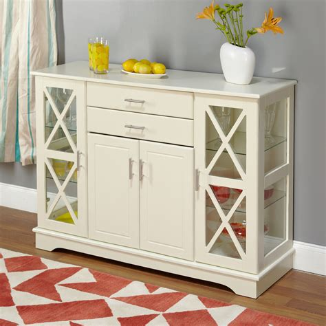 antique white kendall buffet dining room furniture storage