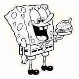 Spongebob Coloring Pages Printable Bob Sheets Colouring Drawings Sponge Characters Cartoon Fun Squarepants Dibujos Para Number Email sketch template