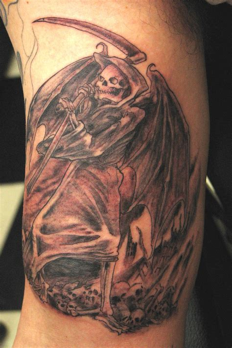 Death Tattoos And Designs Page 44