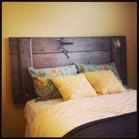 diy door headboard diy barn door headboard home decor pinterest barn door headboards diy barn door and door
