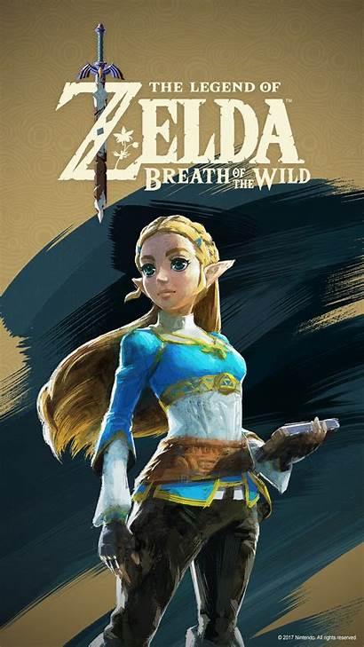 Zelda Breath Wild Wallpapers Legend Guardian Mobile