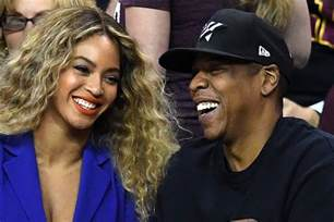 Jay-Z and Beyonce Twins