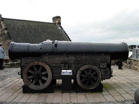 mons meg the siege cannon photo