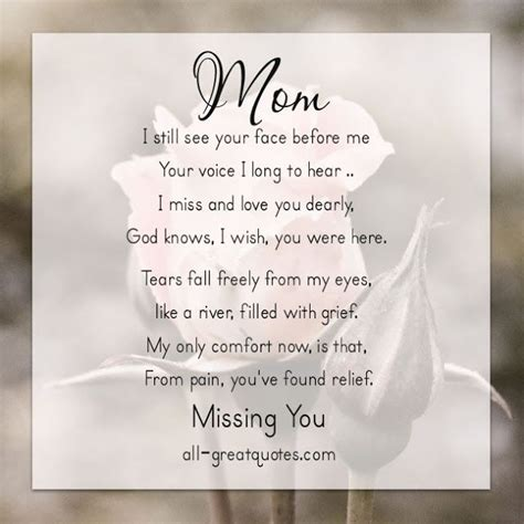 missing mom quotes  pinterest missing brother