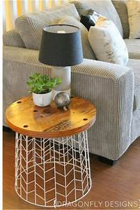Diy Deco Recup : top 10 excellent diy end tables top inspired ~ Dallasstarsshop.com Idées de Décoration