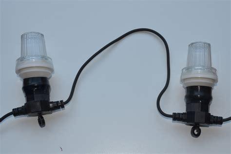 led strobe festoon lighting flashing party light string 10 bulbs syncrolight co uk
