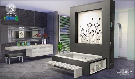 Simcredible Designs Gaudium Bathroom • Sims 4 Downloads