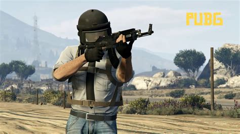 PUBG in GTA V Outfit   GTA 5 Doomsday Heist Military Outfit - YouTube