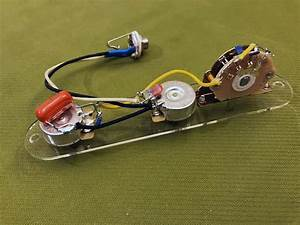 Prewired Telecaster Wiring Harness - Usa Parts