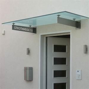 Vordach Haustür Glas : vordach aus satiniertem glas mit schwertern aus edelstahl f r haust r ~ Orissabook.com Haus und Dekorationen