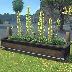 Large Planter Box FFXIV Housing - Outdoor Furnishing