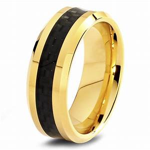 black gold wedding rings for men wedding ring styles With wedding rings men gold