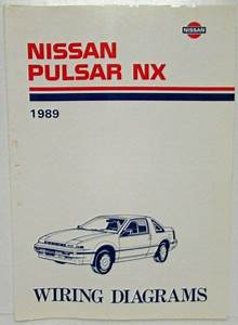 1989 Nissan Pulsar Nx Electrical Wiring Diagram Manual