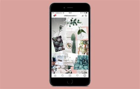 instagram grid layouts  examples