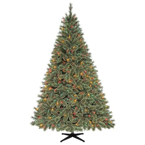 christmas trees led sears