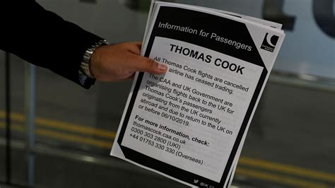 Thomas Cook: Why did the world's oldest travel firm go ...