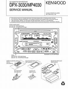 Service Manual   Kenwood Dpx Mp4030 Dpx