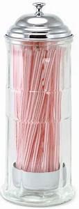 Distributeur De Paille : distributeur de paille en verre deco americaine goodies ~ Teatrodelosmanantiales.com Idées de Décoration
